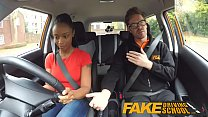 yet driver worst is tits big with learner ebony school driving fake negras