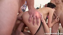 NoRestForTheAss, Lina Arian first DP with gapes...