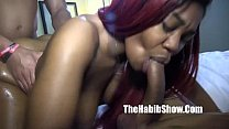 phat ass nina rotti takin dick doggystyle freak...