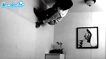 possessed latina teen step sister with hairy co...