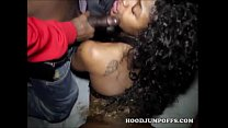 guys black two by gangbanged get teen black Cute
