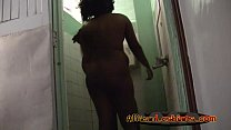 Two horny booty African lesbians havng fun unde...