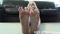 My feet will make your big cock so hard JOI