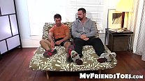 Cole gets foot worship from big muscled and hai... Thumbnail