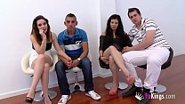 Real Couple Gets Into Their First Wife Swap, And Ends Up Sexily