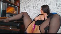 Chubby thick russian girl at the desk on cam -tinycam.org