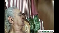 horny old dick gets to fuck a younger slutty babe hi 1