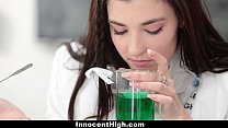 InnocentHigh - Hot Girl Fucked In Chemistry Lab...