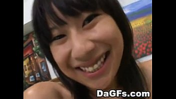 thumb Adorable Asian Teen Gets Dirty