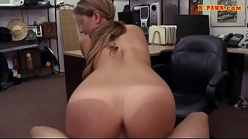 Pretty babe screwed by nasty pawn dude