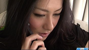 Strong fuck for brunette Japanese hottie Kyoka Ishiguro