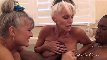 BBC BATHTIME WITH TWO STUNNING MILFS