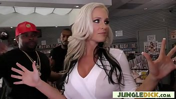 Alena Croft In Her First-time Interracial Gangbang