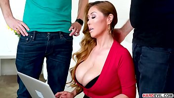 thumb Busty Asian Milf Kianna Dior Takes Two Dicks