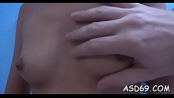Asian whore gets seduced and gangbanged coarse by...