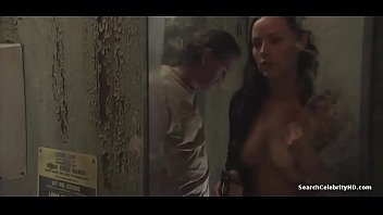 Topless showing boobs and sex scene from species...