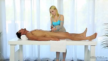 Medical penis massage - Trillium and Tommy Gunn