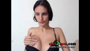 thumb Skinny Top Model Teen Dancing And Teasing On Cam From