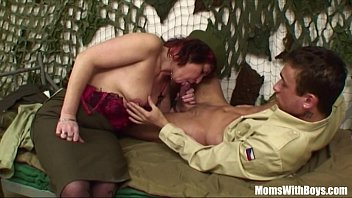 thumb Pierced Pussy Senior Army Officer Reprimands A Soldier