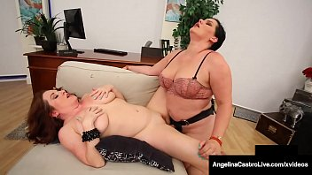 Medical BBW Angelina Castro Heals Big Maggie Green With Cock