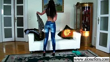 Real Lonely (liona) Play With Things As Sex Toys mov-17