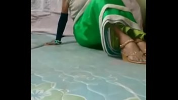 Femboy in sister 039 saree goes for...