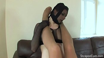 Pantyhose and Heels, Leg, Foot, Ass and Cock Tease