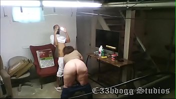 Bareback Hotel Maid on Security Cam