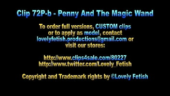 Clip 72P-b Penny Masturbated With The Magic Wand - Full Version Sale: $3
