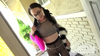 thumb Cute Teen With Pigtails Fucked Rough By Her Onl