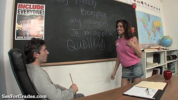thumb Slutty Student Bangs Her Teacher