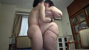 Subtitled Japanese extreme BBW fat body worship in HD  #16511