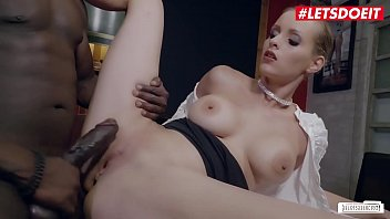 LETSDOEIT - Big Ass MILF Anike Ekina Gets Deep Pounded By Big Cock Guy In Hot Interracial Fuck