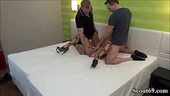 thumb German Teen Fuck And Facial In Amateur Threesome