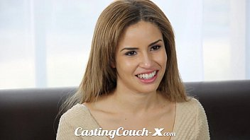 thumb Casting Couch X Exotic Cali Girl Nervous To Do