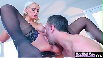 (Kenzie Taylor) Big Oiled Ass Girl Like Deep Anal Hardcore Sex clip-20
