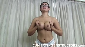 I want to see your cock get nice and hard CEI