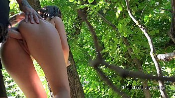 cover video Euro Babe Takes Money And Big Dick Outdoor