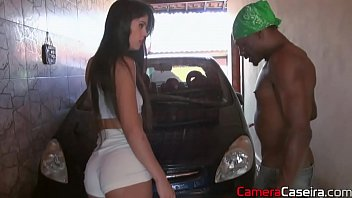 Sex In The Car Wash With Nice Of The Homemade Camera