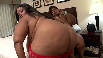 Couple of big beautiful black ladies Cotton Candi SuperStar XXX with huge knockers and massive keysters train their skull-job skills and drilling their twats with toy