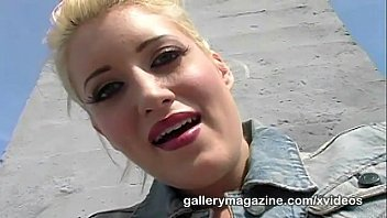 Kimberly kane is a blonde hottie masturbating on the rooftop