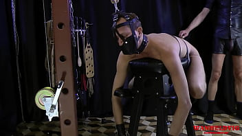 Man Spanked Tied Guy And Orgasm