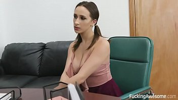 Fucking Awesome - Busty Ashley Adams fucks for better grades