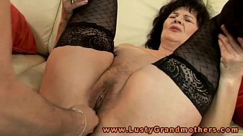 Granny stockings vids