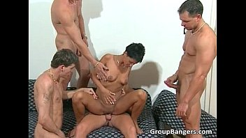 Exciting orgy session with pretty sweethearts