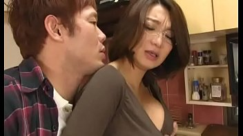 Japanese Nerd Sucking A Young Man's Cock