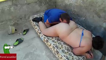 Mattress on the floor and eats all pussy outdoor. RAF218