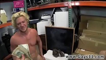 Muscled Blonde Straight Amateur In Gay Pawn Shop