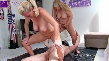 The Milf Files! Kinky piss and fuck orgy with 2 blond Milfs! Part 1