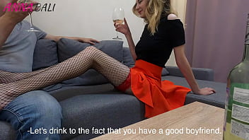 While The Girl Was In The Shower,Fucked Her Beautiful Friend In Stockings Anna Bali